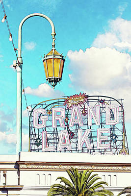 Grand Lake Merritt - Oakland, California Art Print