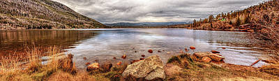 Photograph - Grand Lake Panorama by Susan Rissi Tregoning