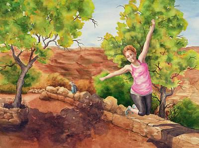 Grand Leap Art Print by Johanna Axelrod
