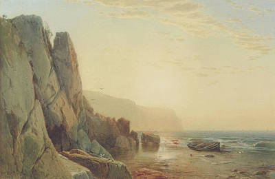 Rocky Painting - Grand Manan by William Hart