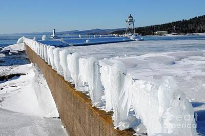 Photograph - Grand Marais Harbor by Sandra Updyke