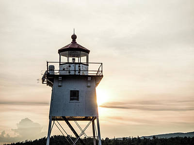 Photograph - Grand Marais Lighthouse by Whitney Leigh Carlson
