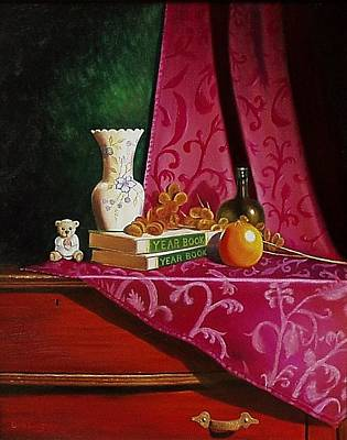 Painting - Grand Ma's Dresser by Gene Gregory