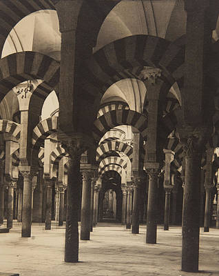 Grand Mosque Cordoba Art Print by Claudi Carbonell