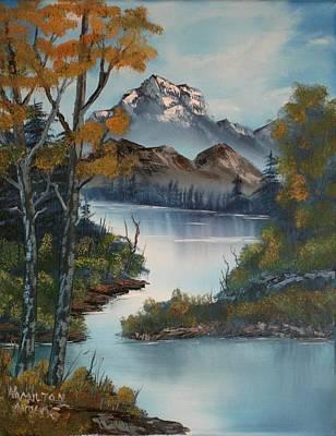 Grand Mountain Art Print