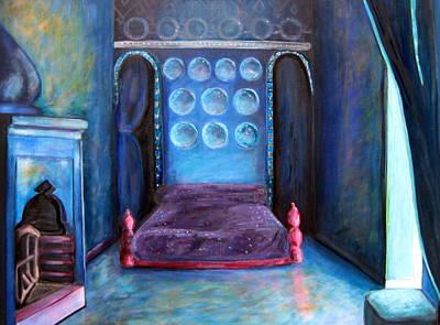 Grand Nap Art Print by Rebecca Merola
