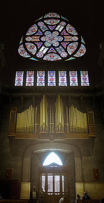 Photograph - Grand Organ At Our Lady Of The Rosary Cathedral Manizales Colomb by Adam Rainoff