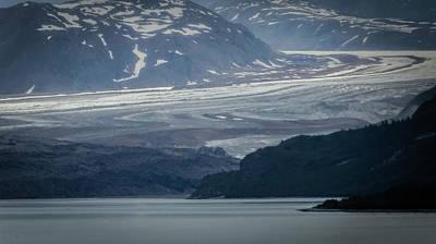 Photograph - Grand Pacific Glacier by David Halperin