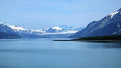Photograph - Grand Pacific Glacier by Judy Wanamaker