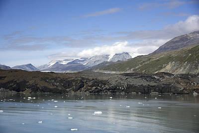 Photograph - Grand Pacific Glacier by Richard J Cassato