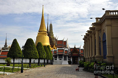 Photograph - Grand Palace 1 by Andrew Dinh