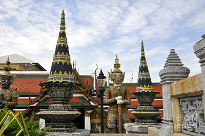 Photograph - Grand Palace 10 by Andrew Dinh