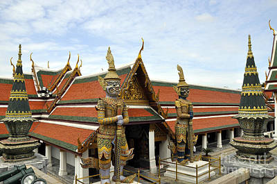 Photograph - Grand Palace 11 by Andrew Dinh