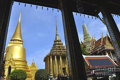 Photograph - Grand Palace 5 by Andrew Dinh