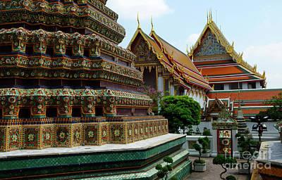 Photograph - Wat Phra Chetuphon Bangkok  Bangkok 1 by Bob Christopher
