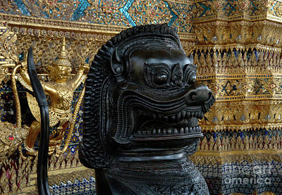 Photograph - Grand Palace Bangkok 4 by Bob Christopher