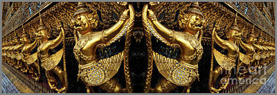 Photograph - Grand Palace Bangkok Thailand by Bob Christopher