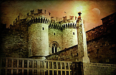 Photograph - Grand Palace Of The Knights Of Rhodes by Diana Angstadt