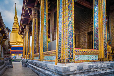 Photograph - Grand Palace Walkway by Inge Johnsson
