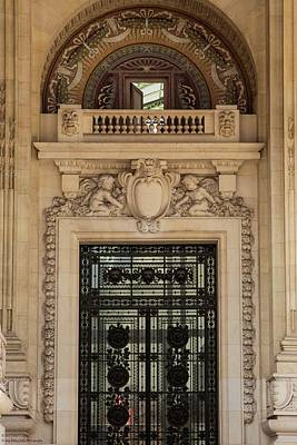 Photograph - Grand Palais Details - 2  by Hany J