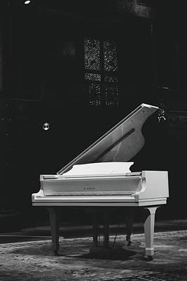 Grand Piano Art Print