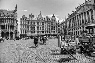 Bruxelles Photograph - Grand Place Brussels by Georgia Fowler