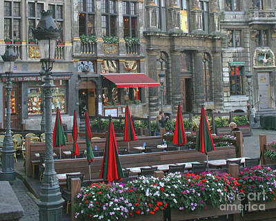 Photograph - Grand Place_pjboylan by PJ Boylan