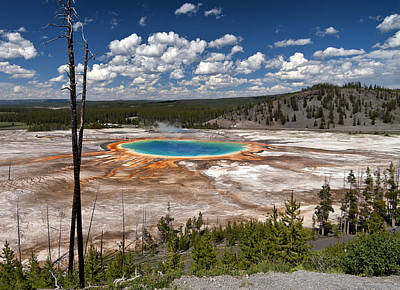 Photograph - Grand Prismatic by John Gilbert