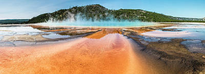 Photograph - Grand Prismatic Spring Yellowstone  by John McGraw