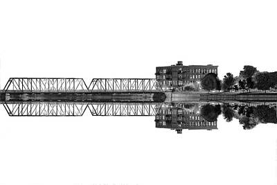 Wall Art - Photograph - Grand Rapids 6th Street Bridge by J Thomas