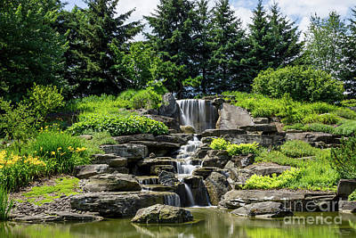 Photograph - Grand Rapids Waterfall by Jennifer White