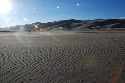 Photograph - Grand Sand Dunes by Irina ArchAngelSkaya