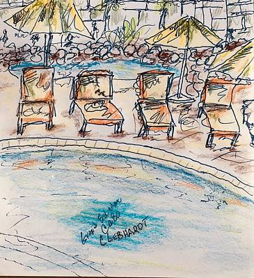 Painting - Grand Solmar Cabo by Chuck Gebhardt