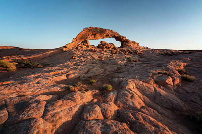 Photograph - Grand Staircase Arch At Sunrise by James Udall