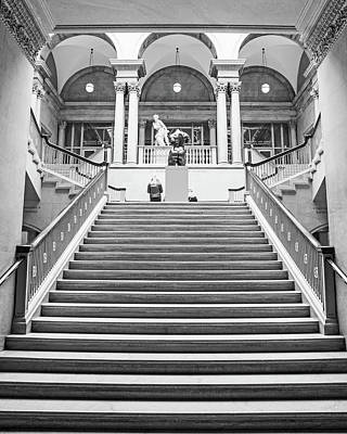 Ira Marcus Royalty-Free and Rights-Managed Images - Grand Staircase at The Art Institute by Ira Marcus