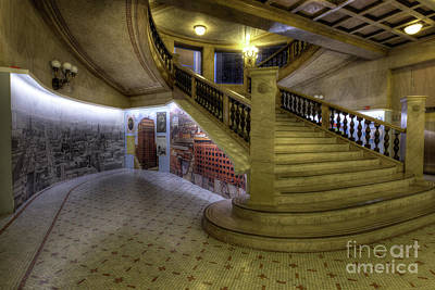 Chicago Photograph - Grand Staircase by Kevin Oconnell