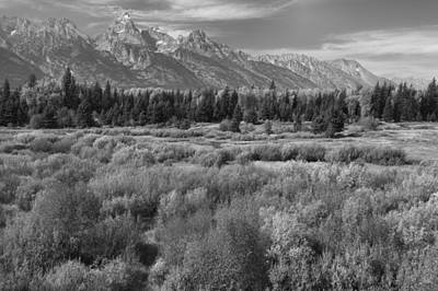 The Tetons Photograph - Grand Teton Afternoon by Stephen  Vecchiotti