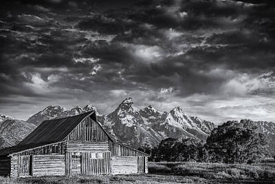 Teton Wall Art - Photograph - Grand Teton Barn by Andrew Soundarajan