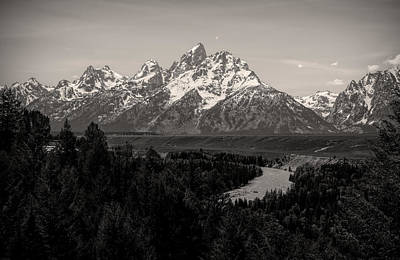 Photograph - Grand Teton Landscape Snake River by Dan Sproul