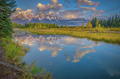 Photograph - Grand Teton Morning Reflection by Scott McGuire