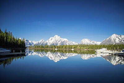 Photograph - Grand Teton Mountain by Jill Laudenslager