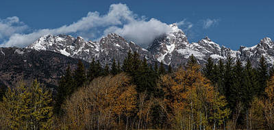 Photograph - Grand Teton Mountain Range by Paul Freidlund