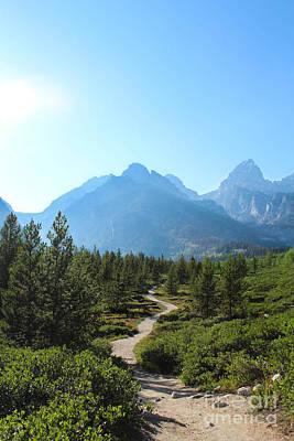 Mountain Range With Evergreens Photograph - Grand Teton Mountains IIi by Kathleen Garman