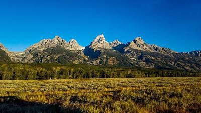 Photograph - Grand Teton Mountains by Marilyn Burton