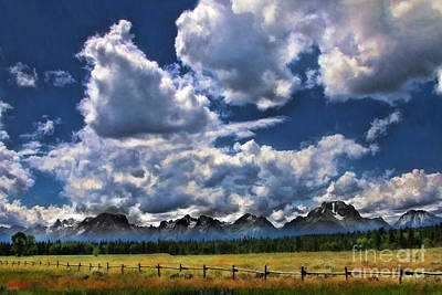 Photograph - Grand Teton National Park by Blake Richards