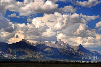 Grand Teton National Park Art Print by Diane E Berry