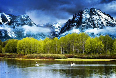 Photograph - Grand Teton National Park by Mike Braun