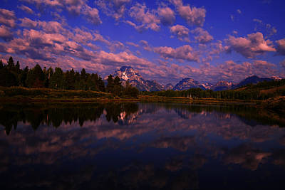 Photograph - Grand Teton National Park Oxbow Bend by Mark Smith