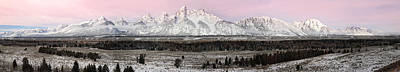 Photograph - Grand Teton National Park Panorama by Pierre Leclerc Photography