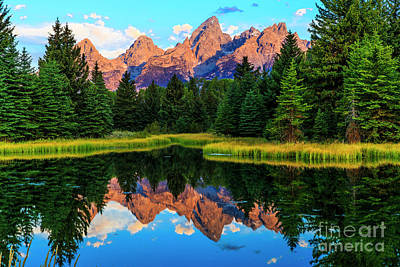 Photograph - Grand Teton National Park Reflection by Ben Graham